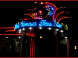 Diner Neon-Argon SignWallpaper by WDWParksGal