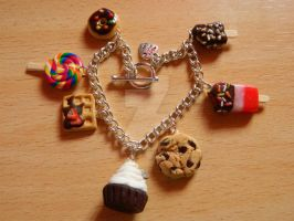 Sweet Treats - Charm Bracelet by LizanneATOL