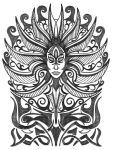 The Lady of Pain tattoo design by thehoundofulster