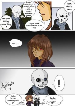 I am saying the truth , though (UT comic) by AppleBets