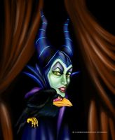 Maleficent by vampirekingdom