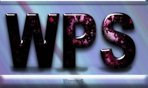Pink And Black Text Effect by WampiruS