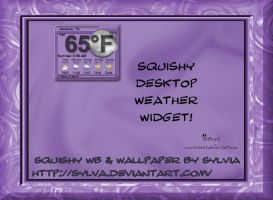 Squishy Weather Widget by TNBrat
