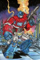 Leader of the Autobots by danbrenus