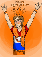 Happy Queensday !! by RomyvdHel