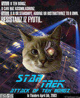 Star Trek: Attack of Teh Borgz by TehResearchGuy