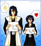 Byakuya and Rukia's deadly drawing battle by xRyuusei