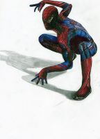 coloured spidey by fjagcars