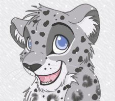 Snow Leopard by thetelltaleheart