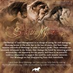 Save the Mustangs    (banner 01) by Lipizzaner-Kgirl