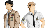AU! JeanxMarco [SNK] by willowspritex3