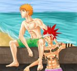 RenIchi: On the beach by sangre7