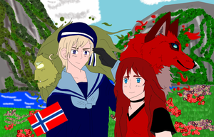 Summer in Norway- Eira and Norway (Contest Entry)