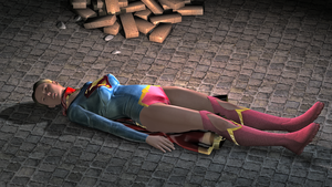 Supergirl Awakening After Defeat by Sleeper77