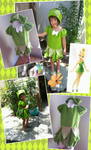 Tinkerbell towel dress cover up by Catzilerella