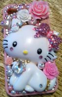 Charmmy Kitty Decoden iPhone 4S/4 Case by xxrainbowacid