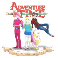 Adventure Time with Fionna and Cake by DokuPRODUCTIONS