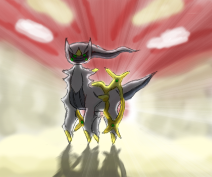 Kiss my Arceus by LupineWarlord