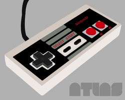 Vector Nintendo Controller by Atlas07