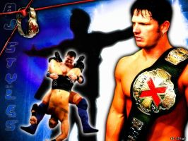 AJ Styles Wallpaper by AISTYLES