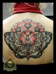 butterfly mandala by pande-lee