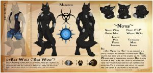 [CM - Rex] Detailed Character Sheets + Extras by Ceowolf
