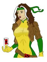 Rogue Colored by Empowered-Heroine
