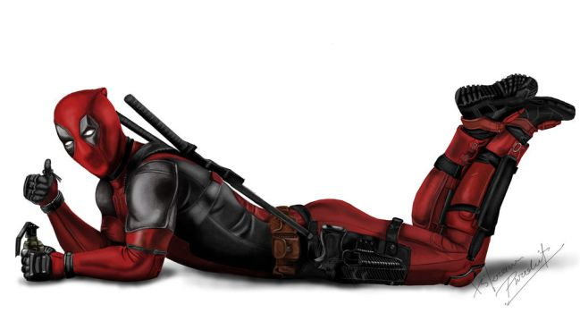 Dead pool by V9921
