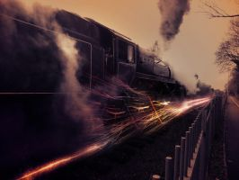 Locomotive abstract manipulation by GetOut06