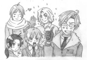 The Allies by ExclusivelyHetalia