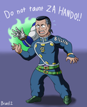 Commission: DO NOT TAUNT ZA HANDO for KZN02 by Brian12