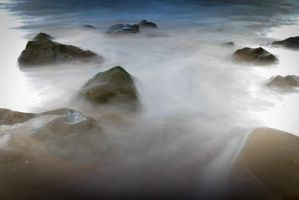 Foggy Waters 2 by Samuel-Benjamin