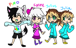 |:.Some Of My Vocaloid Ocs.:| by J0LIA