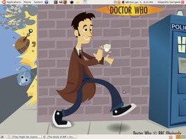 Doctor Who desktop by whosname