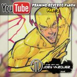 Drawing Reverse Flash Video part 2 by JoeyVazquez