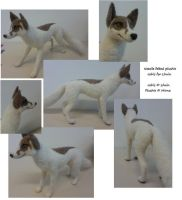 Needle felted Johis plushie for Lhuin by Mirnamiu