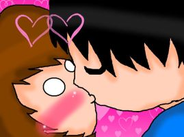Alexis first kiss by suzzie456