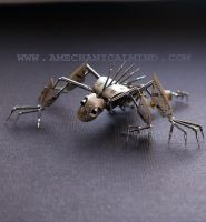 Watch Parts Creature Strangler by AMechanicalMind