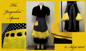 The 'Jacqueline' 1950s apron by Idzit