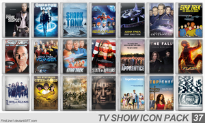 TV Show Icon Pack 37 by FirstLine1