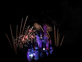 Disney Fireworks 13 by ModernMessiah-Photos