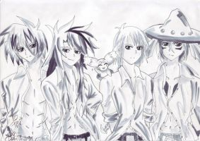 .: Tales of Bishies :. by KratosAurionsAngel