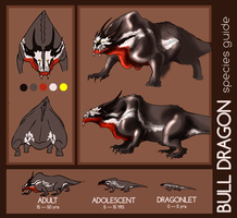 Species Guide - Dragon - Bull by Sleyf