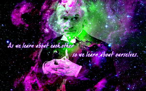 First Doctor widescreen wallpaper by Leda74