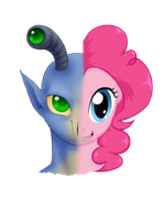 Morphing is Magic Cover Art - Aximili/Pinkie Pie by SanchaySquirrel
