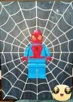 lego Spiderman oil painting by benhdv