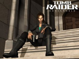 Tomb Raider Underworld 3D by matteusz06