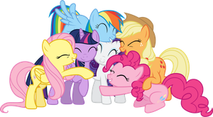 Friendship is Magic (3) by 90Sigma