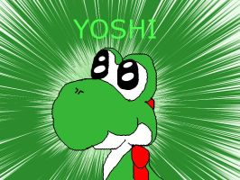 Yoshi drawing -bad- by dylrocks95
