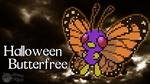 H'ween Butterfree (H'ween Special) (w/ Timelapse) by PkmnMc